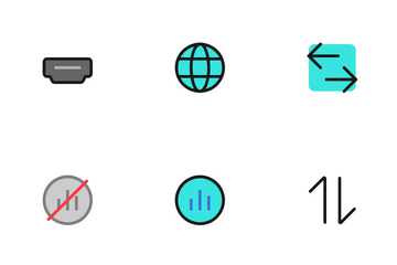 Network And Connectivity Icon Pack