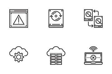 Network And Database Icon Pack