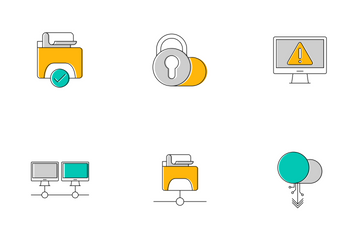 Network And Hosting Icon Pack