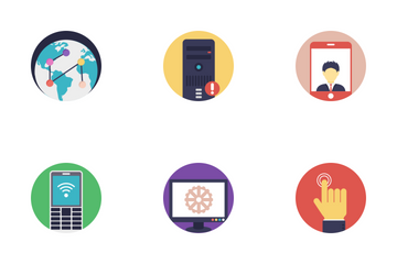 Network And Hosting 1 Icon Pack