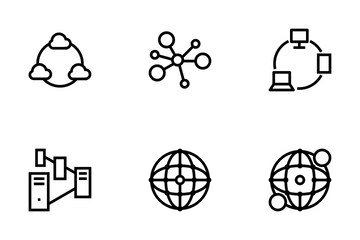 Network And Sharing Icons Icon Pack