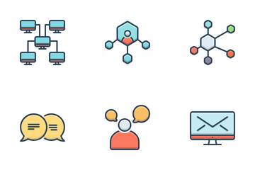 Network & Communication Icon Pack