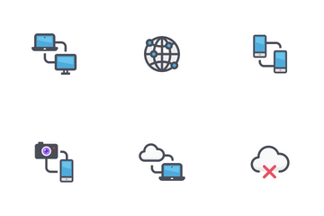 Network & Connectivity Icon Pack
