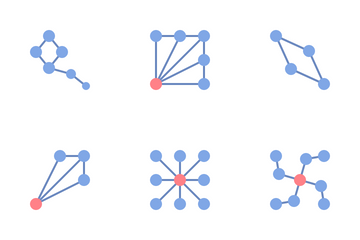 Network Pattern Icon Pack