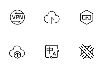 Network Service Icon Pack