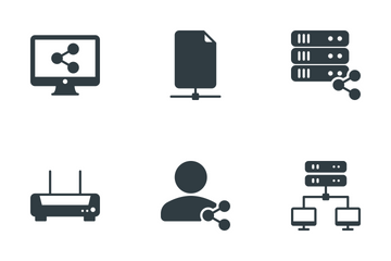 Network & Sharing Icon Pack