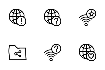 Network Sharing Icon Pack