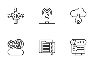 Network Technology Icon Pack