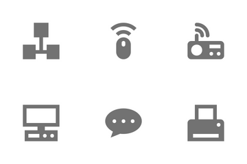 Network Technology Vol 1 Icon Pack