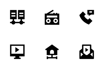 Networking And Communications Icon Pack