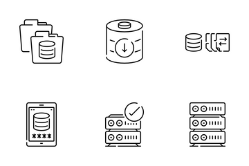 Networking And Data Icon Pack