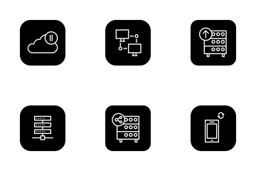 Networking And Sharing Icon Pack