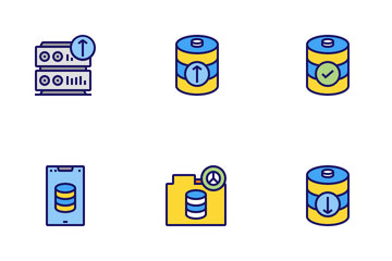 Networking & Data Icon Pack