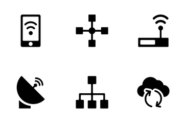 Networking Vector Icons Icon Pack