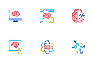 Neurology Medicine Icon Pack
