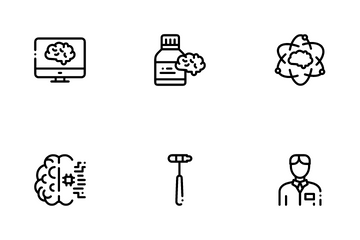 Neurology Medicine Icon Pack