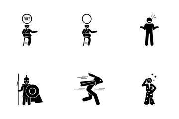 Neutral Man Icon Pack