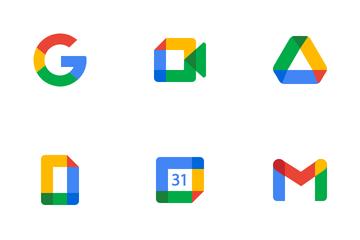 New Google Logos Icon Pack