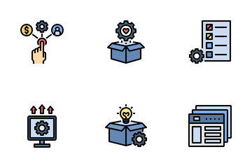 New Product Development (NPD) Icon Pack