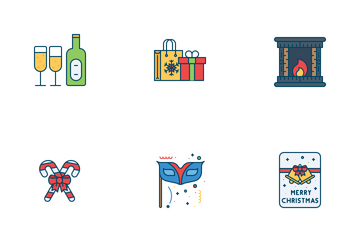 New Year Celebration Icon Pack