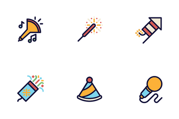 New Year Eve Icon Pack