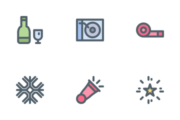 New Year's Eve Icon Pack