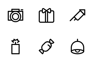 New Years Icon Pack