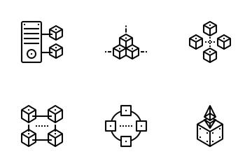 NFT Blockchain Icon Pack
