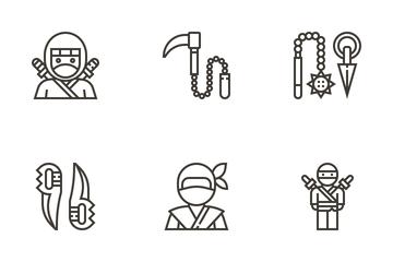 Ninja Elements Icon Pack