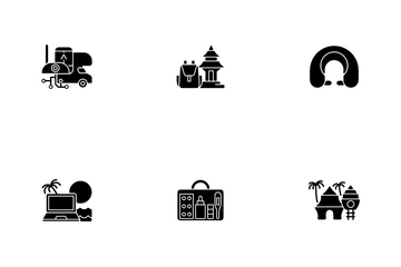 Nomadic Vacations Icon Pack