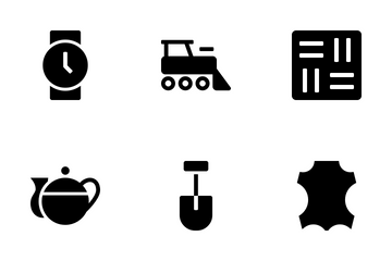 Non-edible Products Icon Pack