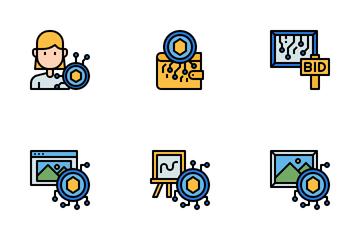 Non-Fungible Token Icon Pack
