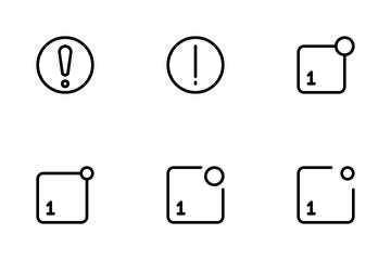 Notifications Icon Pack