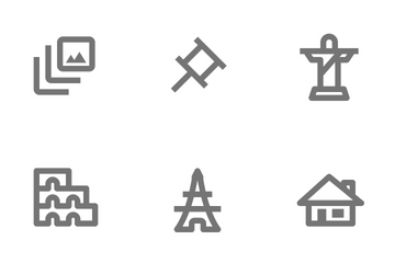 Nova Free Icon Pack - Outline Icon Pack