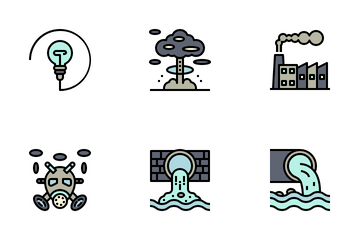 Nuclear Energy Icon Pack