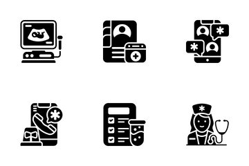 Nursing And Midwifery Icon Pack
