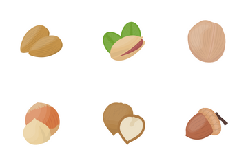 Nuts Icon Pack