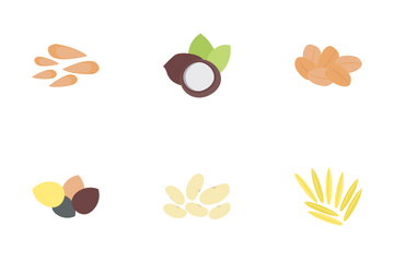 Nuts And Grains Icon Pack