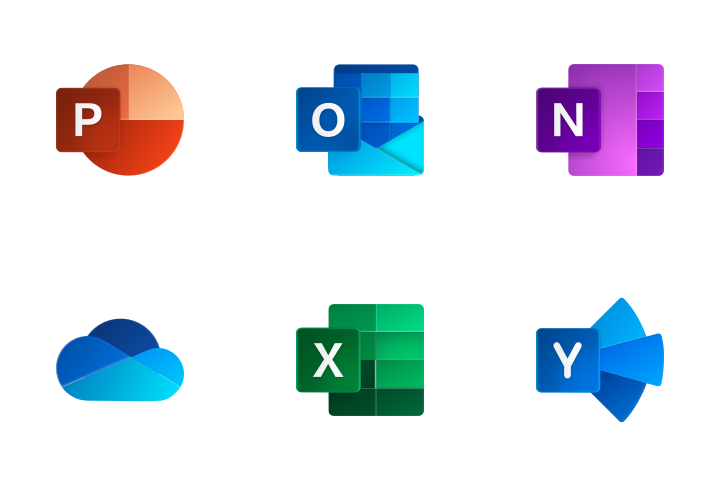 Download Office 365 Icon pack - Available in SVG, PNG, EPS