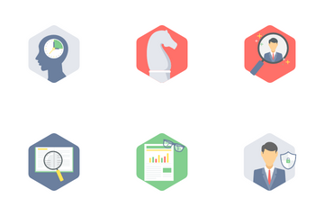 Office And Business Flat Part 3 Icon Pack