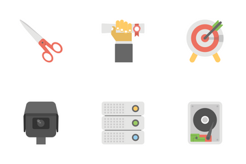 Office And Internet Flat Icons 2 Icon Pack