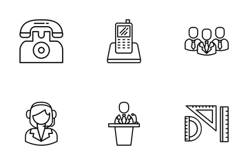 Office And Management Icon Pack