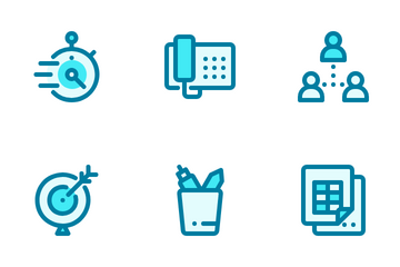 Office And Stationary Icon Pack