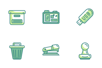 Office And Stationery Icon Pack