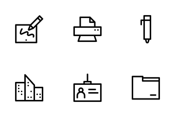 Office And Work Icon Pack