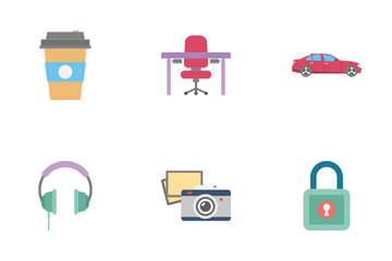 Office And WorkRoom Icon Pack
