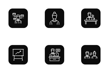 Office Culture Icon Pack