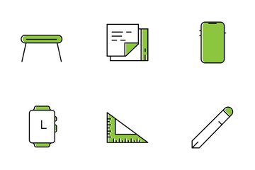 Office Desktop Set Icon Pack