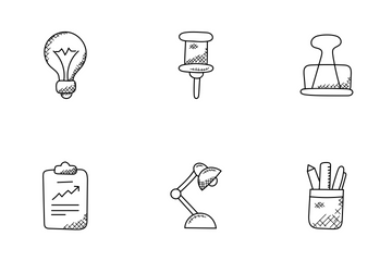 Office Doodle Icons  Icon Pack