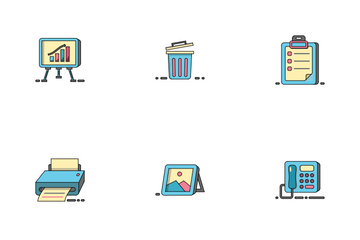 Office Element Icon Pack
